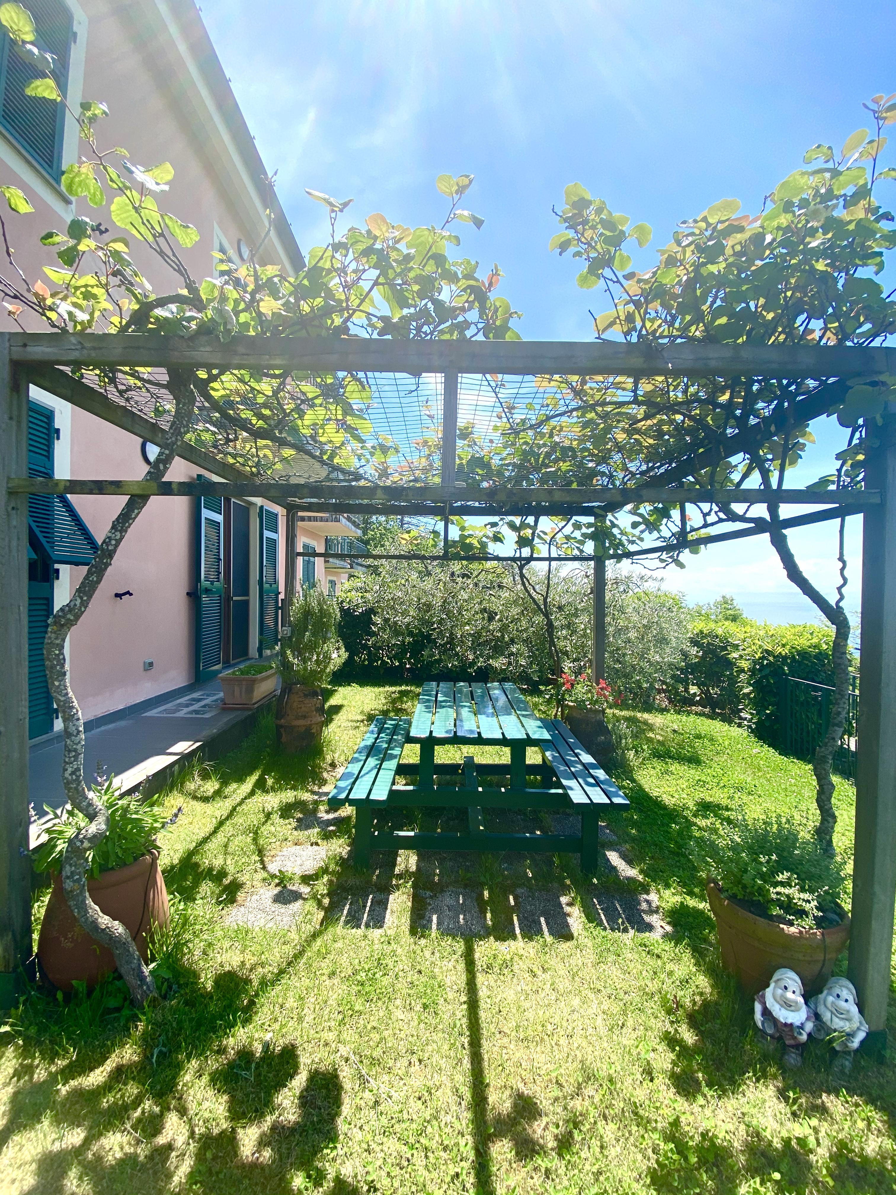 IN VENDITA casa con giardino a Framura – loc. Pian di Lavaggio